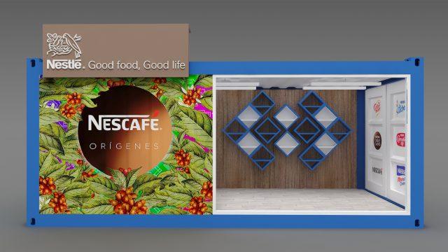 Nestlé containers